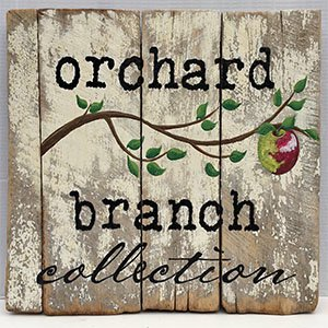 Orchard Branch Collection Virginia wine cider country art and furniture handcrafted reclaimed wood