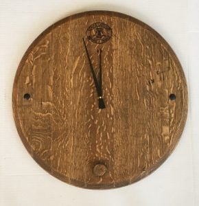 Orchard Branch Collection Virginia wine cider country art and furniture handcrafted reclaimed wood crafts clock