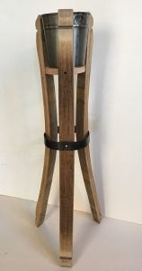 Orchard Branch Collection Virginia wine cider country art and furniture handcrafted reclaimed wood crafts ice bucket wine stand